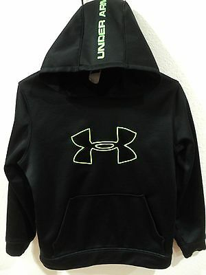 Under Armour Youth Pullover Hoodie Loose Fit Hooded Sweatshirt Kids Size L Large
