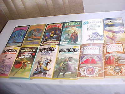Michael Moorcock Lot Of 12 Pb All In Good   Condition