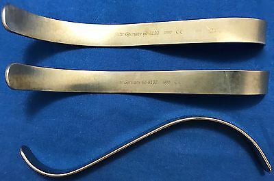 Sklar S Retractor - Reference: 60-6130 - Lot of 3