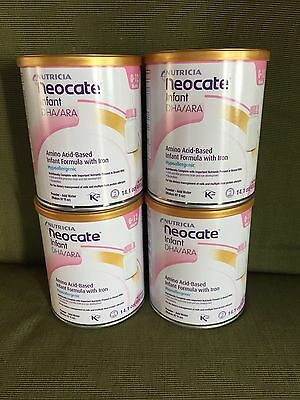 4 cans 14.1 oz NEOCATE INFANT powder formula expire May 2018 or later