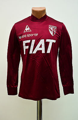 Fc Metz France 1980's Home Football Shirt Jersey Maglia Le Coq Sportif Vintage