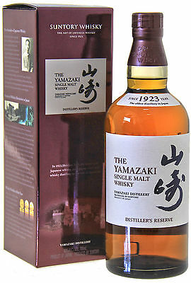 Yamazaki Distiller's Reserve Single Malt Whisky 0,7L, 43% Vol.