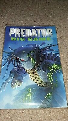 Predator Big Game Graphic Novel Dark Horse Comics