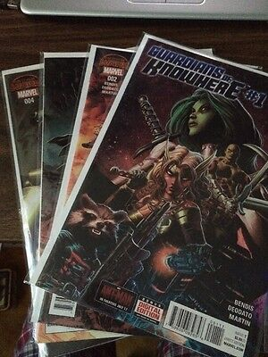 Guardians of Knowhere #1-4 Full Set Lot Run Marvel Comics Secret Wars Deodato NM