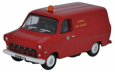 Oxford Diecast Ford Transit Mk1 London Fire Brigade 76FT1003 (OO Scale)