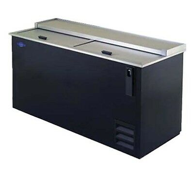 "Fogel BCX-65-DBST Bottle Cooler 19 Cu. Ft. Capacity 65""W X 26-1/2""D X 33-4/5""H"