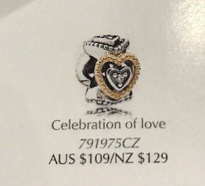 Pandora Celebration Of Love Silver And Gold Spacer