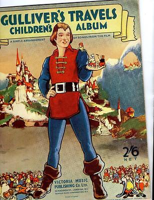 Sheet Music - Gulliver's Travels Childrens Album of Songs from the Film