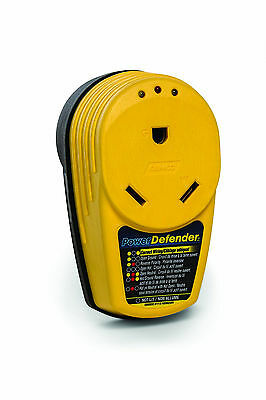 POWER DEFENDER Circuit Analyzer Wiring Surge Protector 30 Amp RV Trailer Camper