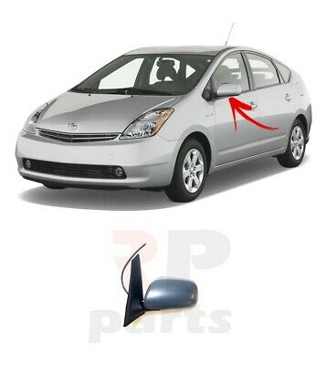 New Toyota Prius Nhw20 Outside Wing Mirror Electric Left N/s 2003-2009 Lhd
