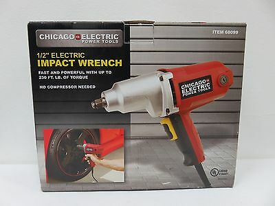 "Chicago Electric Power Tools 1/2"" Electric Impact Wrench"