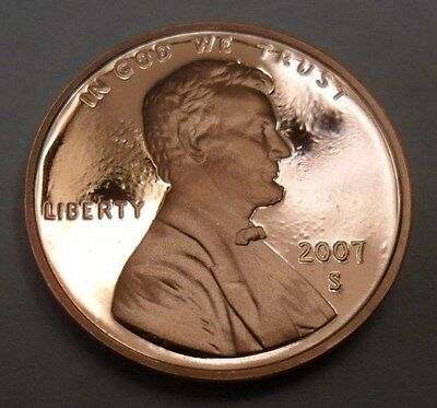 2007 S Lincoln Memorial *proof* Cent / Penny  **free Shipping**