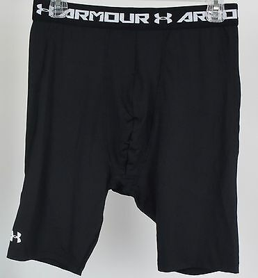 Under Armour Boys' HeatGear Armour Fitted Shorts - Long, Youth X-Large