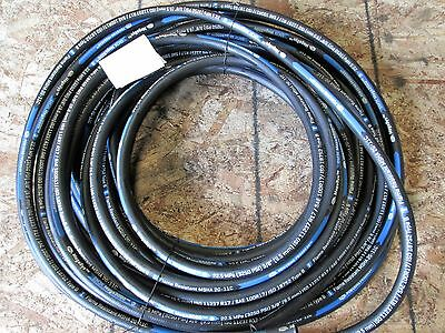 "Gates Hydraulic Hose 6M3K 3/8"" Mega3000 One Wire Braid Hose 100R17 90 Feet"
