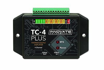 Innovate 3915 TC-4 PLUS Thermocouple Amplifier 4-Channel w/Analog Outputs