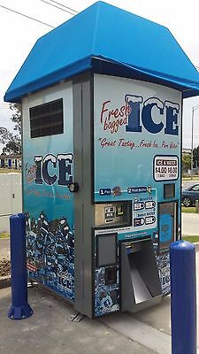 Ice and Filtered Water Vending Machine