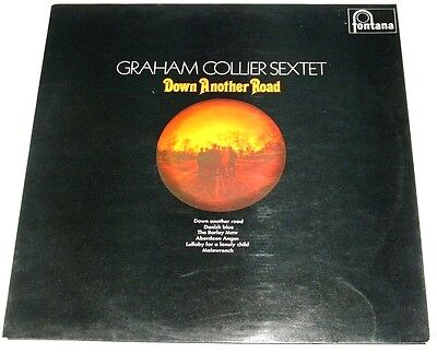 GRAHAM COLLIER SEXTET down another road - UK LP fontana original