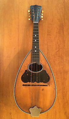 Antique Washburn Bowl Back Mandolin.  Free Shipping