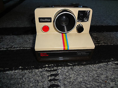 Vintage Polaroid One Step Instant Land Camera Sears Special in case