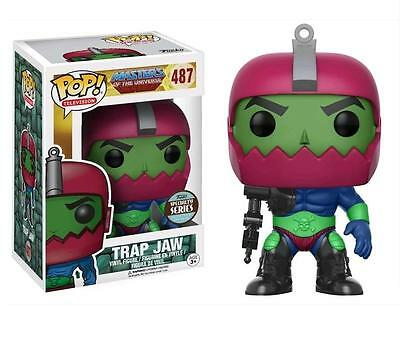 Masters of the Universe Trap Jaw Specialty Store Exclusive Pop! Vinyl Figure 487