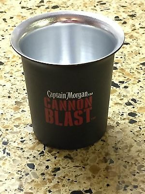 10 Captain Morgan Cannon Blast Shot Glasses - NEW + 1 free