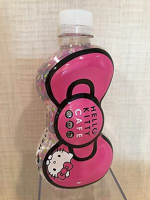 Hello Kitty Cafe Pop-Up Store Pink Bow Water Bottle NEW Unopened 14.1 oz