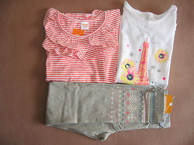 Nwt ~ 3-Piece Lot ~ Gymboree ~ Girl's Size 7-8 ~ Pants Set