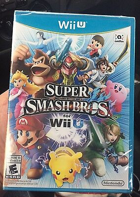 Super Smash Bros. (Nintendo Wii U, 2014)Brand New and Sealed!