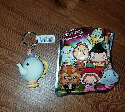Monogram DISNEY Figural Keyring - MRS. POTTS from Beauty and the Beast - NEW