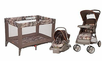 Baby Stroller Car Seat Playard Travel System One Hand Lift and Fold