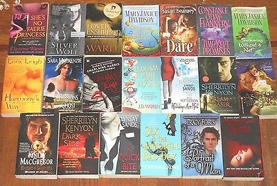 Romance Paranormal Time Travel Lot 20 Books kinley macgregor sherrilyn kenyon