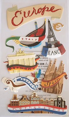 JOLEE'S BOUTIQUE LE GRANDE EUROPE Holiday Scrapbook Craft Sticker Embellishment