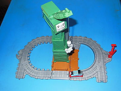 "Thomas & Friends Take Along ""cranky The Crane Foldout Set ""gc"