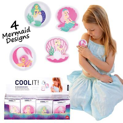 COOL IT MERMAIDS - Kids Cold or Hot Pack Bump Bruises Injury Soother Reusable!!!