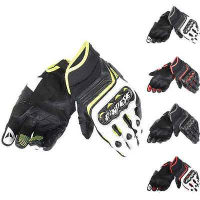 Dainese Carbon D1 Moto Motorcycle Motorbike Short Gloves All Colours & Sizes