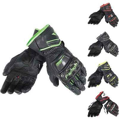 Dainese Druid D1 Motorcycle Motorbike Sports Long Gloves All Colours & Sizes