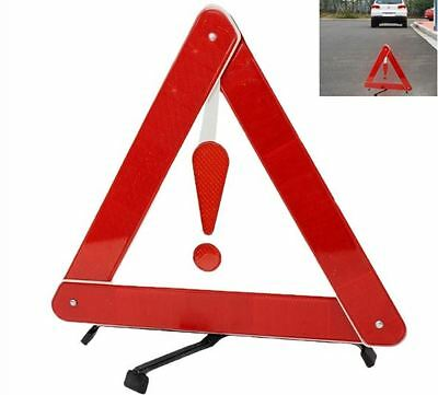 Car Warning Triangle Foldable Reflective Sign Emergency Traffic Alert Road Safe