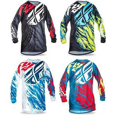 Fly Racing Kinetic Relapse Jersey Oberteil Shirt Motocross MX Gelände Moto