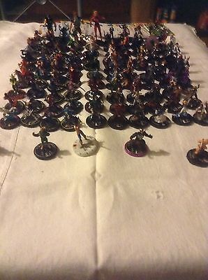 Over 100 Different Marvel Heroclix miniatures Many Of Your Favourites Avengers,