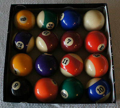 Pool Snooker Billiard Balls