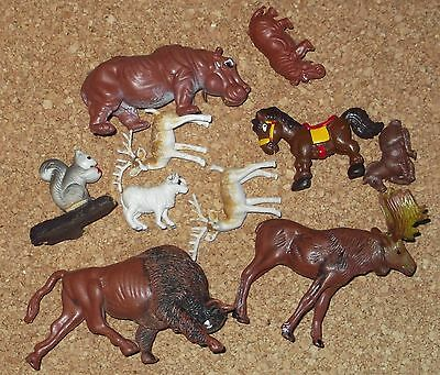 lot de 10 animaux - Made in Hong Kong