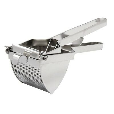 Vogue Heavy Duty Potato Ricer 100X100mm Stainless Steel Masher Juicer