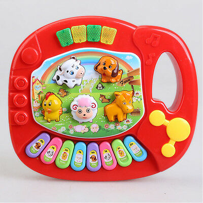 Baby Kids Animal Farm Musical Education Piano Music Child Developmental Toy 1PC