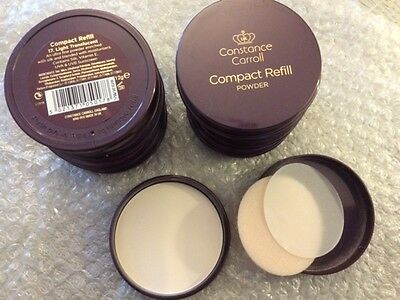 Poudre compacte constance caroll/compact refill powder n°17 light Translucent