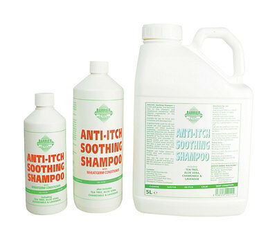 Barrier Anti-Itch Soothing Shampoo 500ml / 1L / 5L Equestrian Horse Care