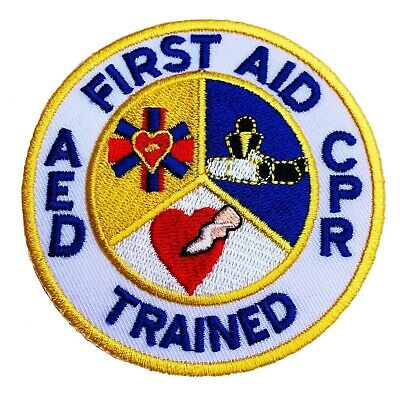 Patch 1178. New Ex Police First Aid Rubber Badge