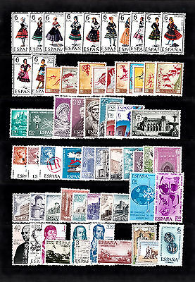 Spain Collection Of Mnh Stamps Lot 2