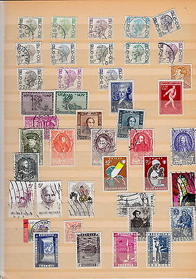 Belgium Collection Of Used Stamps Lot 5