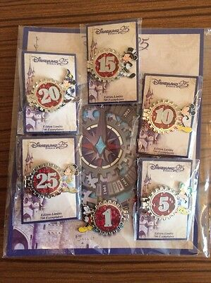 Pins Disney Countdown Des 25 Ans Du Parc Disneyland Paris