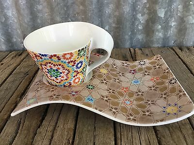 VILLEROY & BOCH Luxembourg NEW WAVE COFFEE SET Moroccan MOSAIC
